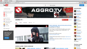 Aggro.TV auf YouTube