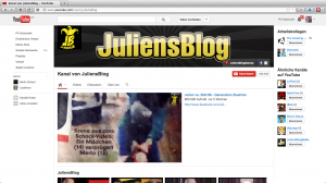 JuliensBlog auf YouTube